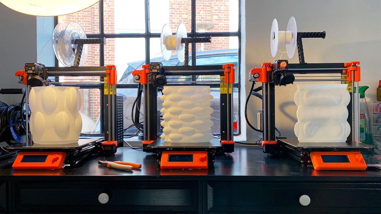3d Printere på FabLab i Kiel